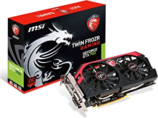 MSI社製 NVIDIA GeForce GT760搭載ビデオカード (オーバークロックモデル) N760GTX TWIN FROZR 4S OC V2