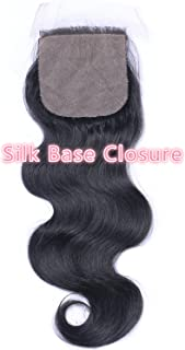 natural looking silk base closures
