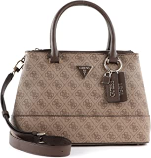 Guess Damen Luxury Satchel Cordelia Logo-Umhängetasche, Einheitsgröße