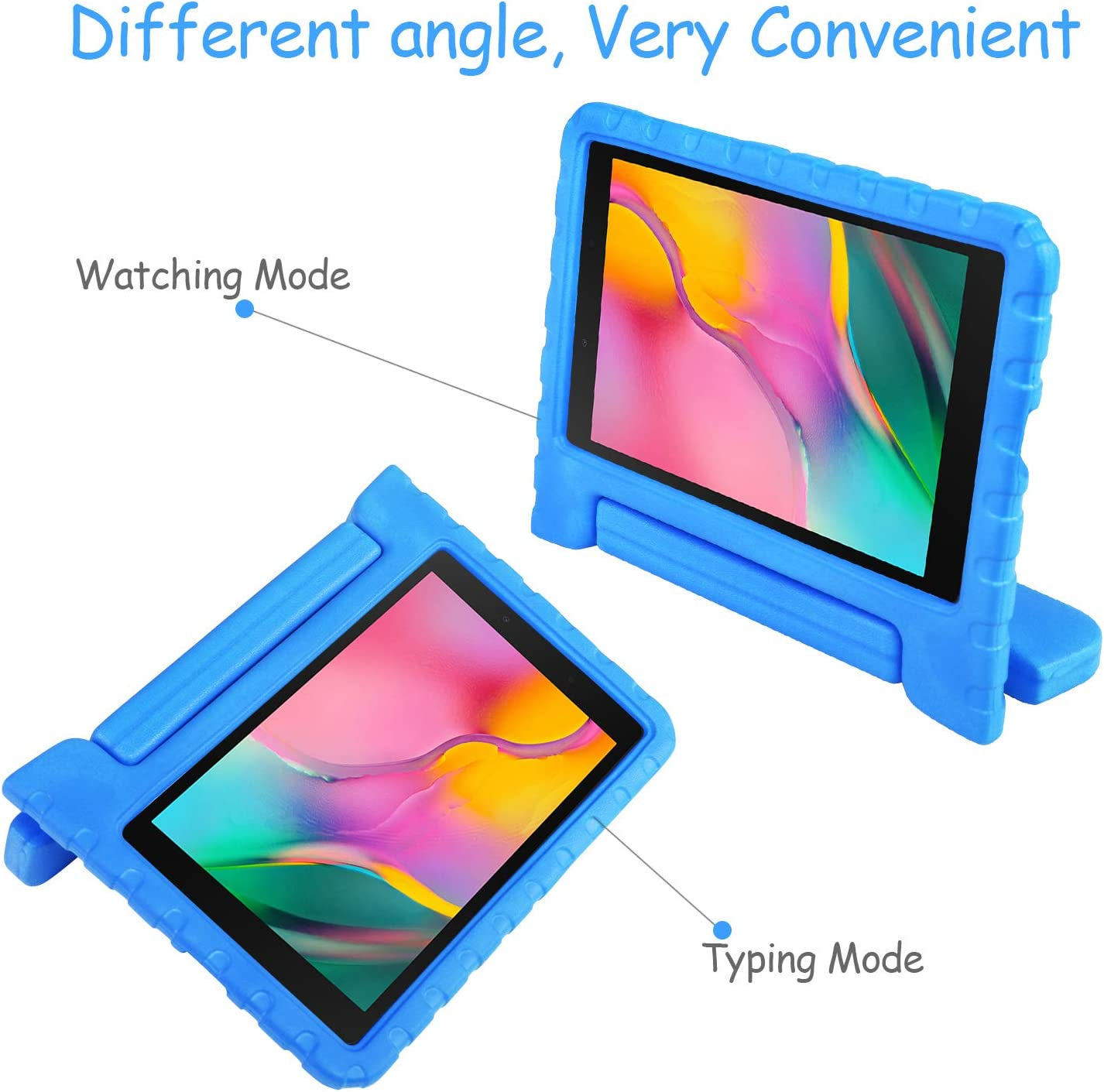 Bule NEWSTYLE Kids Case for Samsung Galaxy Tab A 8.0 2019 SM-T290//T295 - Toddler Lightweight Shockproof Portable Handle Stand Kids Case for Tab A 8.0 Inch 2019 SM-P290//P295 Release