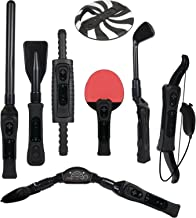 $24 » CTA Digital Wii Sports Resort 8-in-1 Sports Pack (Black)