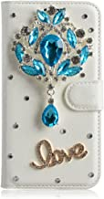 DOOGEE BL5000 Case,Gift_Source [Built-in Card Slots] Wallet Flip Magnetic PU Leather Luxury Glitter Sparkly Diamond Rhinestone Case Folio Stand Cover for DOOGEE BL5000 (5.5