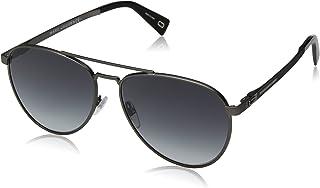 Marc Jacobs Aviator Unisex Sunglasses - Grey Lens