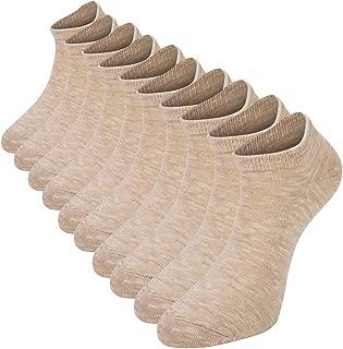 Comfy Cotton Leisure Socks Low Cut Socks Casual Short Socks Ankle Non-Slide Socks 5 Pair