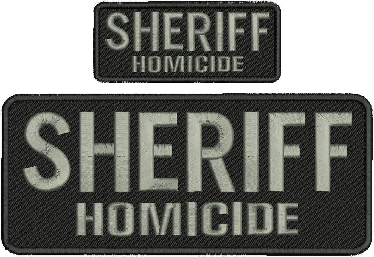 Embroidered Patch - Patches Max 67% OFF for Homicide Gifts Man Women Sheriff