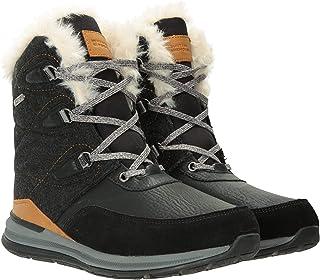 Mountain Warehouse Scarponi da Neve Ice Crystal, da Donna - Scarpe con Tomaia in Tessuto, Leggere, Traspiranti, Test Termi...