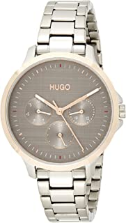 Hugo Boss Women's Grey Dial Stainless Steel Watch - 1540014