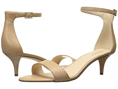 Nine West Leisa Heel Sandal (Natural Leather) Women