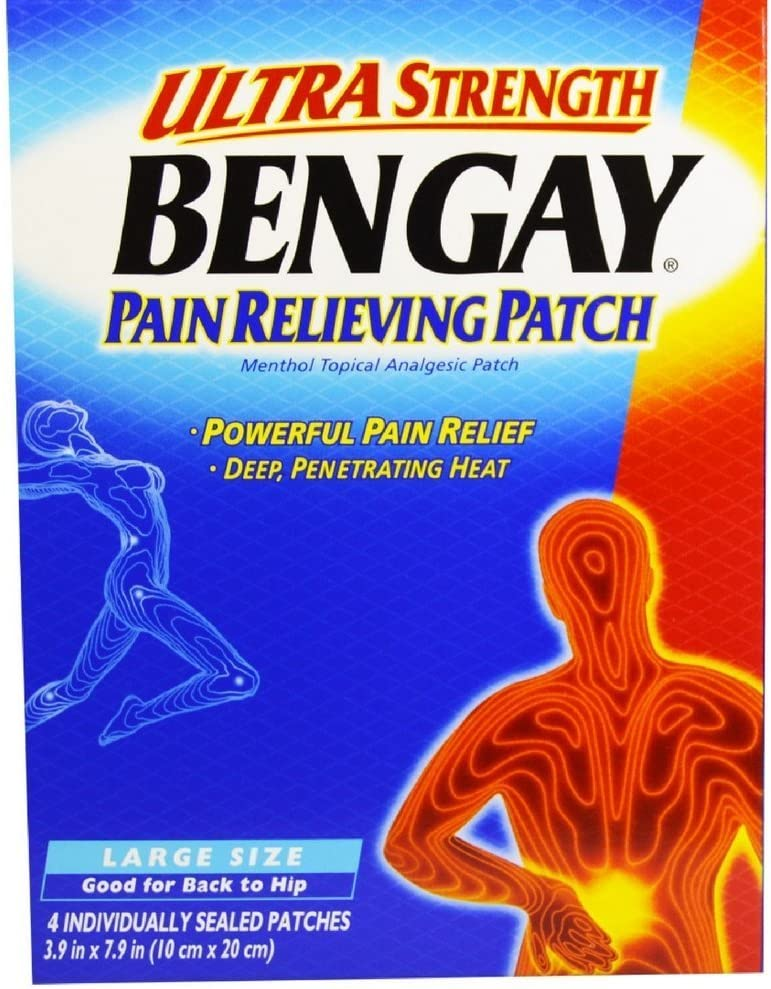 BENGAY Ultra Strength Pain Relieving Patches Each quality assurance 4 Outlet ☆ Free Shipping Size Large