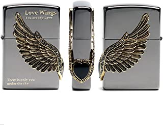 Zippo Love Wings BI Lighter Genuine Authentic Original Packing 6 Flints Set
