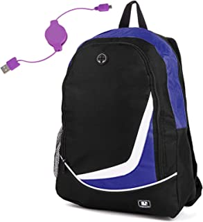 Travel Backpack for HP Pavilion 15.6 inch Laptop with Charge Cable