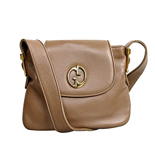 77688087c Gucci 1973 Leather Shoulder Bag Handbag 251809