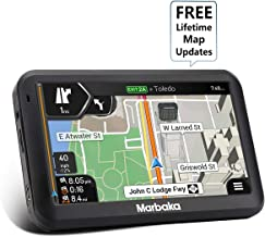 [2019 Upgraded Version] GPS Navigation for car, 5 inch Touchscreen GPS Navigation System Preloaded North America map, Free Lifetime Map Update, Voice Trun-by-Turn Route Guidance, Speed Limit Reminder
