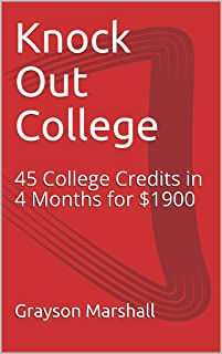 Knock Out College: College Credits, No Debt.
