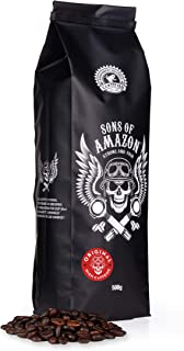 Sons of Amazon Dark Roast Coffee Beans 500g – Australia's and UK's Strongest Coffee Beans - Strong and FAIR - Just The Beans