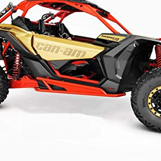 Can-Am New OEM Maverick X3 Red Rock Slider Kit, 715003438
