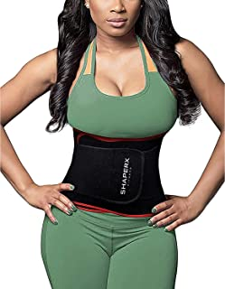 294ab1e4c1be1 SHAPERX Waist Trainer Trimmer Slimming Belt Hot Neoprene Sauna Sweat Belly  Band Weight Loss