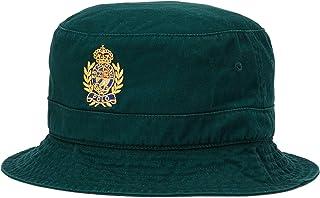 قبعة Polo Ralph Lauren للرجال مصنوعة من القطن المضلع
