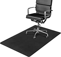 Office Chair Mat for Hardwood/Tile/Vinyl/Concrete Floor, Under Desk Chair Mats Hard Floor Protector for Rolling Chair, Lar...