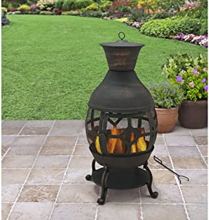 Antique Bronze 360-Degree View Of Fire 360-Degree View Of Fire Big Size