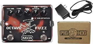 MXR SF01 Slash Octave Fuzz Power Bundle w/ 1 free Items: Item: Pig Hog 9v Power Adapter