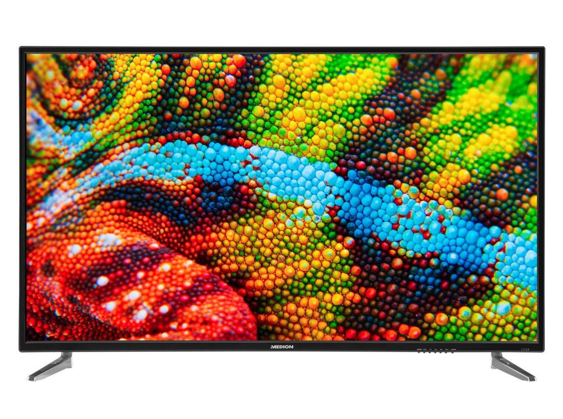 Medion p16500 163,8 cm (65 pulgadas UHD) televisor (4 K, sintonizador triple, DVB-T2 HD, PVR, USB, HDMI, CI +, reproductor multimedia): Amazon.es: Electrónica