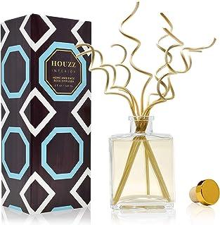 HOUZZ Interior Lemon Verbena Essential Oil Reed Diffuser   Lemon Zest & Verbena Blossoms Blended with Vetiver & Natural Le...