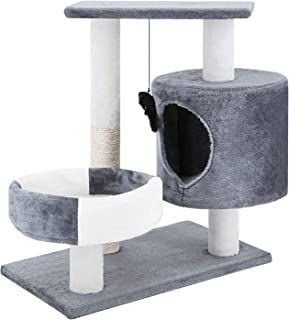 ScratchMe Cat Tree Tower with Hammock