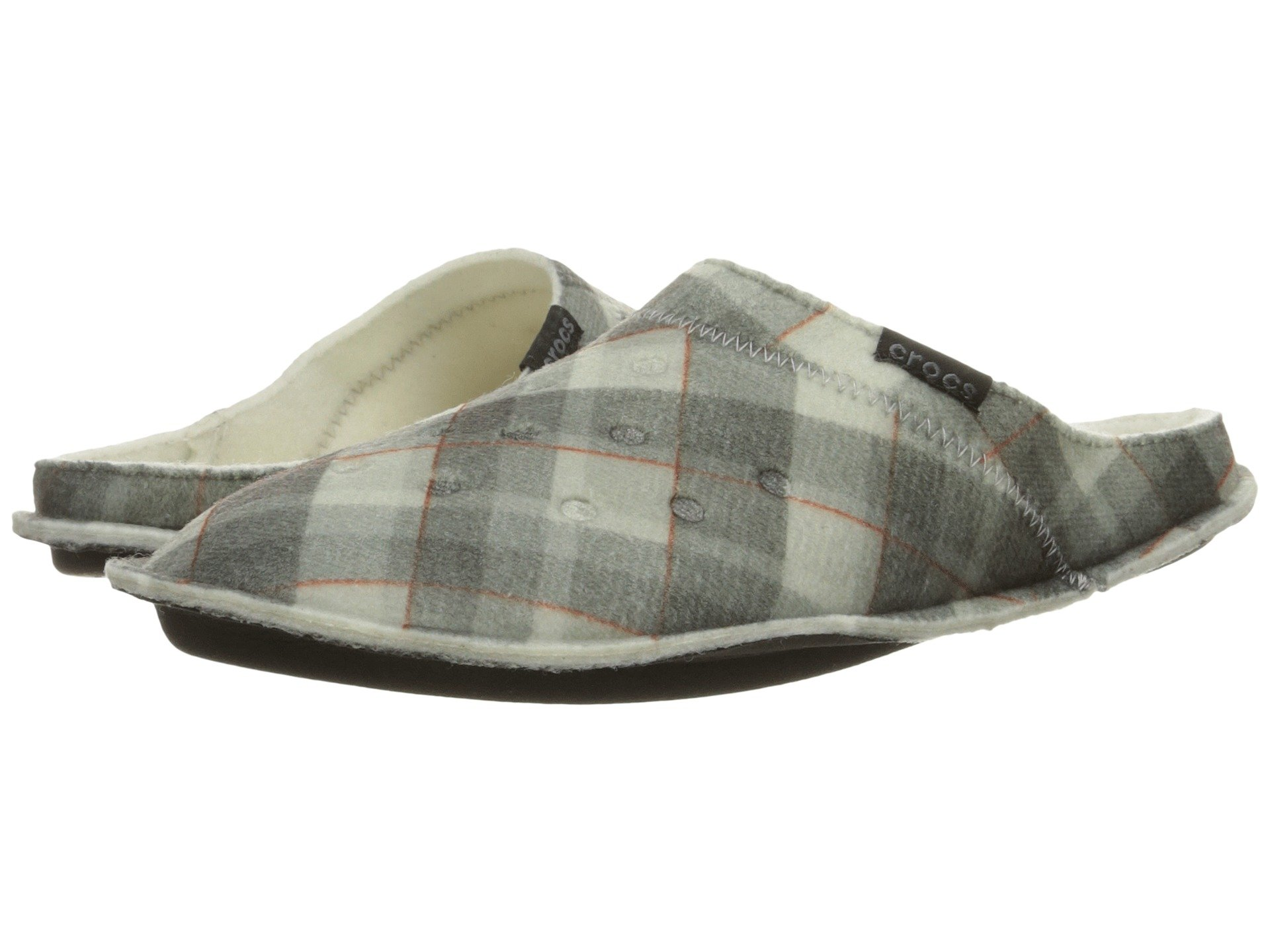 Zapatos de Descanso para Hombre Crocs Classic Plaid Slipper  + Crocs en VeoyCompro.net