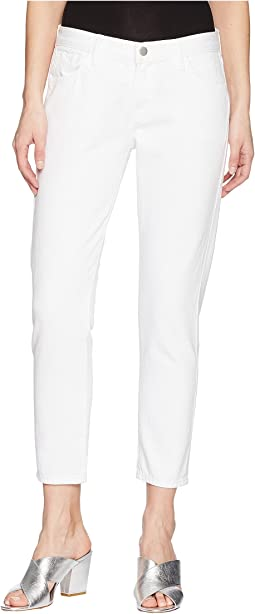 J Brand - Sadey Mid-Rise Slim Straight in White