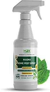 MDXconcepts Organic Home Pest Control Spray - Kills & Repels, Ants, Roaches, Spiders, and Other Pests Guaranteed - All Natural Insect Killer - Child & Pet Safe - Indoor/Outdoor Spray - 16oz