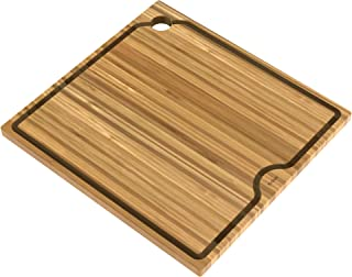 Kraus KCB-WS104BB Kore Solid Bamboo Cutting Board for Workstation Kitchen Sink (16 x 8 3/4 in.), Wood