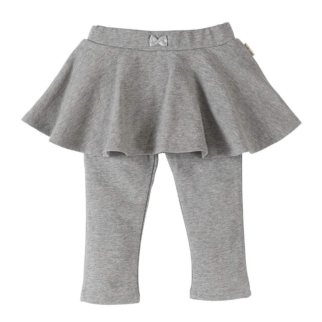 靴下余韻種をまく[ミキハウス ホットビスケッツ] スカート付パンツ 73-3208-456