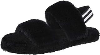 شباشب MIXIN الوهمية للنساء مفتوحة الأصابع مريحة لينة من القطيفة حزام مطاطي نعل حذاء منزلي داخلي خارجي