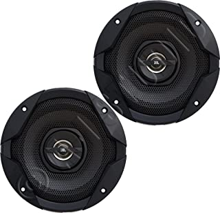 """JBL GT7-6 6.5"""" 2-Way GT7-Series Coaxial Car Audio Speakers-Set of 2, Black, one Size photo"""