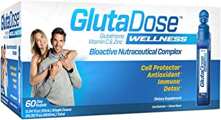Sponsored Ad - GlutaDose   Detox Every Day   Support Immune Function and Increase Energy   400mg Glutathione+Vitamin C+Zin...