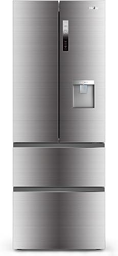 Haier B3FE742CMJW Réfrigérateur-congélateur / 190 cm / 296 kWh / an / réfrigérateur 307 L / congélateur 151 L / ABT /...