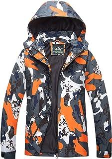 Chaqueta impermeable para hombre, chaqueta de lluvia con capucha, cortavientos, senderismo, softshell, primavera, otoño