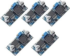 5Pack LM2596 LM2596S DC-DC Step Down Variable Volt Regulator Input 3.0-40V Output 1.5-35V Adjustable Buck Converter Electronic Voltage Stabilizer Power Supply Module