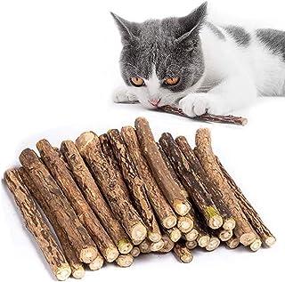 30 st/set kattmynta pinnar, katt tuggpinnar, kattkattkattkattkattleksaker, organiska naturliga matatabi silvervin tuggpinn...