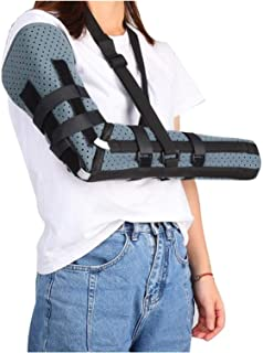 Breathable Unisex Arm Sling Elbow Humerus Brace Splint Arm Injury Recovery Support Braces Supports Recovery Shoulder Strap