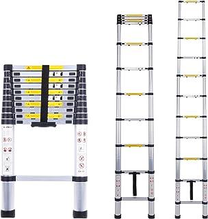 Escalera telescópica multiusos de aluminio portátil Escalera plegable y extensible EN131 y normas CE(3.2M)