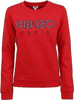 Primavera-Estate 20 Kenzo Luxury Fashion Donna FA52SW7054Z599 Nero Cotone Felpa
