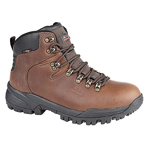 23b59a836c1 Johnscliffe Mens Canyon Leather Superlight Hiking Boots