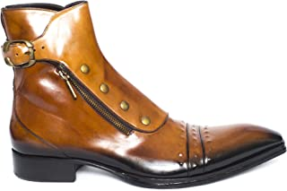 Jo Ghost 3207M Cognac Leather Ankle Boots