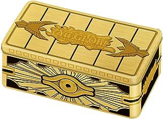 Yu-Gi-Oh! Cards: Gold Sarcophagus Mega Tin | 1 Rare Card | 1 Ultra Rare Card | 1 Prismatic Secret Rare