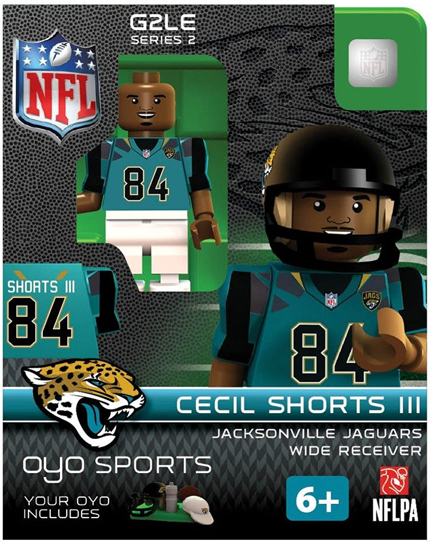 Cecil Shorts III NFL Jackonsville Jaguars Oyo G2S2 Minifigure