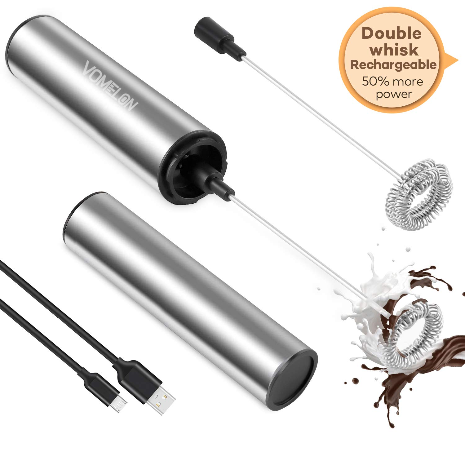 Rechargeable Operated Portable Cappuccino Chocolate