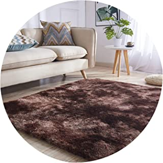 Living Room Area Carpet Big Size Mat Anti-Slip Bedroom Carpet Tea Table Long Plush Carpets Bedroom Mats Home Textile Soft Rug,01,40X60CM