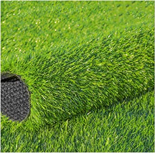 YNFNGX Artificial Turf Synthetic Lawn 25mm Pile Height, High Density Holiday Lawn Dog Pet Natural Realistic Garden Indoor ...